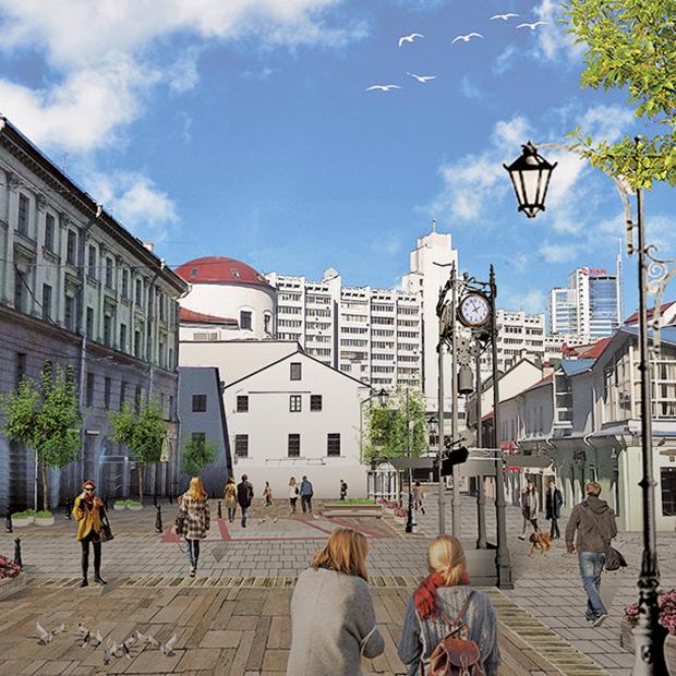 Ремонт на Комсомольской: Что обещали и что получилось — Aрхітэктура на The Village Беларусь
